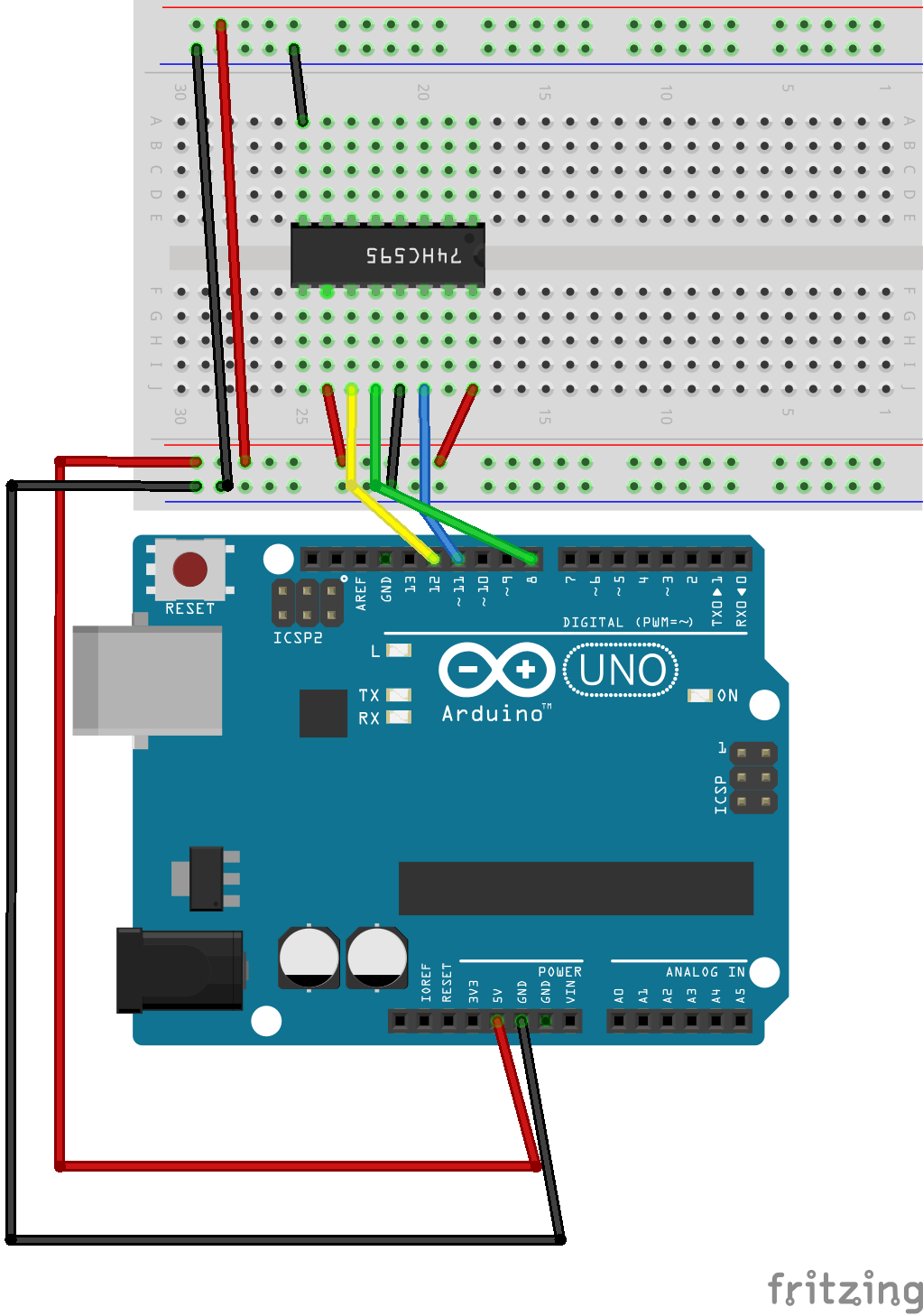 connecting the arduino